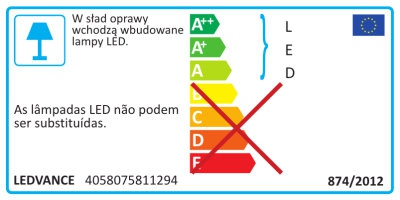 Osram Spot Led Fix 8w/3000k Ip44 Silver Dim